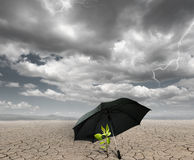 Schützen Sie die Landwirtschaft Stockbild