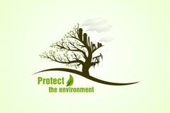 Schützen Sie die Umgebung Lizenzfreie Stockbilder