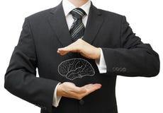 Schützen Sie Geschäftsideen, Wissen, Daten und Copyrightkonzept Lizenzfreie Stockfotografie
