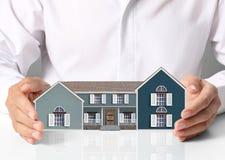 Schützen Sie Haus Stockbild
