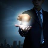 Schützen Sie Ihr Geld Lizenzfreie Stockbilder