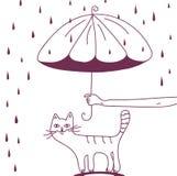 Schützen Sie Ihre Haustiere stock abbildung