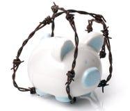 Schützen Sie Ihre Sparungen lizenzfreies stockfoto