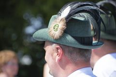 Schützenfest en tysk festival royaltyfri fotografi