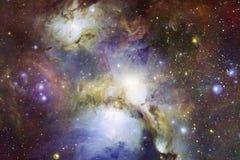 Sch?n vom Universum Elemente dieses Bildes geliefert von der NASA lizenzfreies stockfoto