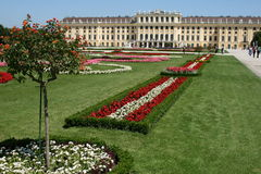Schönbrunn castle, wien Royalty Free Stock Images