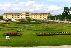 Schönbrunn Palace Stock Images