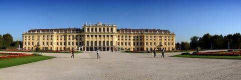 Schönbrunn Palace - panorama Royalty Free Stock Images