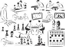 Schaak vector illustratie