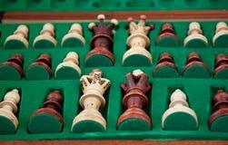 Schaak in de doos Royalty-vrije Stock Afbeeldingen