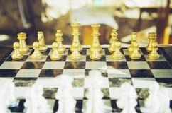 Schaak Een oud spel De toernooien van het schaak royalty-vrije stock foto