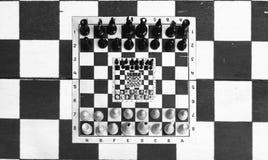 Schaak in schaak Stock Afbeelding