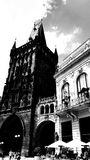 Schaakarchitectuur stock fotografie