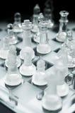 Schaakspel Royalty-vrije Stock Afbeeldingen