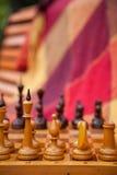 Schaakstukken. Royalty-vrije Stock Afbeeldingen
