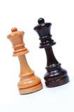 Schaakstukken royalty-vrije stock afbeeldingen