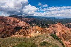 Schaakstukken Ridge Overlook, Cedar Breaks royalty-vrije stock afbeeldingen