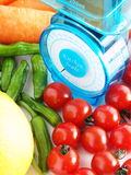 Schaal voor gezondheid Stock Afbeelding