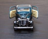 Schaalstuk speelgoed modelford coupe Royalty-vrije Stock Foto's