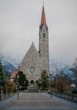 Schaan-Kirche Stockfotos
