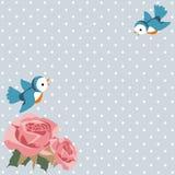 Schabby stilkort Royaltyfri Foto