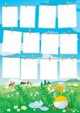 Schablone Stockbilder