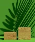 Schablone des Abdeckungsdesigns A4 stellte mit grünem Hintergrund, eco abstrakte moderne unterschiedliche Farbsteigungsart für De Lizenzfreies Stockbild