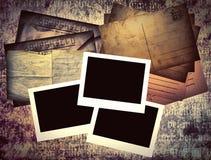 Schablone des alten Buches lizenzfreies stockbild