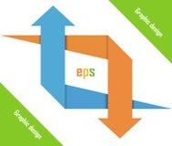 Schablone des Grafikdesigns Lizenzfreie Stockfotos