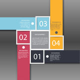 Schablone des modernen Designs Lizenzfreie Stockbilder