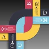 Schablone des modernen Designs Lizenzfreie Stockfotos