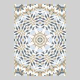Schablone für den Gruß und die Visitenkarten, Broschüren, Abdeckungen Orientalisches Muster mandala Stockfotos