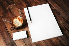 Schablone für Designportfolios Stockfotografie