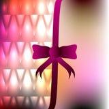 Schablone für Einladung, Glückwunschkarte mit unscharfem Hintergrund a Stockfotografie