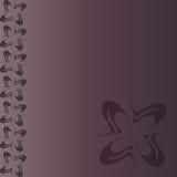 Schablone für Karten, Einladungen, Fahnen auf einem lila Hintergrund stockfotos