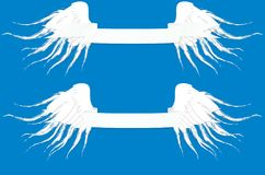 Schablone für Logos, Aufkleber und Embleme in der Entwurfsart mit hea Stockfoto