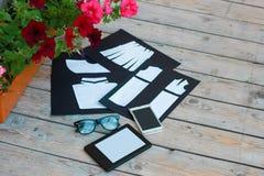 Schablone für Modedesigner Lizenzfreies Stockfoto