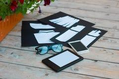 Schablone für Modedesigner Stockfotos