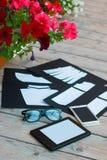 Schablone für Modedesigner Lizenzfreies Stockbild