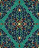 Schablone für Teppich stock abbildung