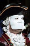 Schablone im Venedig-Karneval Lizenzfreie Stockbilder