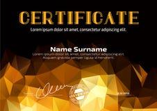 Schablone im Zertifikat, in der Währung und in den Diplomen Lizenzfreie Stockfotografie