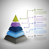 Schablone Infographics Infographics Lizenzfreies Stockfoto