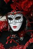 Schablone - Karneval - Venedig Lizenzfreie Stockbilder