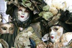 Schablone - Karneval - Venedig Lizenzfreie Stockfotografie