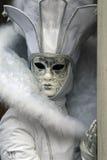 Schablone - Karneval - Venedig Stockfotografie