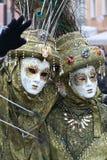 Schablone - Karneval - Venedig Italien Stockfoto