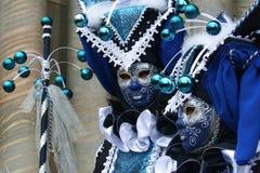 Schablone - Karneval - Venedig - Italien Lizenzfreies Stockbild