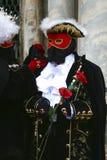 Schablone - Karneval - Venedig - Italien Lizenzfreie Stockbilder