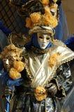Schablone am Karneval von Venedig, Italien, 2011 Lizenzfreies Stockbild